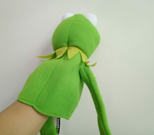 Rare The Muppets Puppet Kermit Frog Plush 40cm Hand Puppets Baby Kids Children
