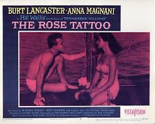 "Burt Lancaster Anna Magnani The Rose Tattoo Original 11x14"" Lobby Card #M3616"