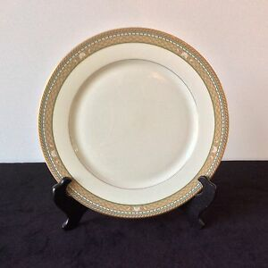 MIKASA-ISLE-TAUPE-1-DINNER-PLATE-SOLD-INDIV-2-AVAIL-L3209-SHELL-COASTAL-OCEAN