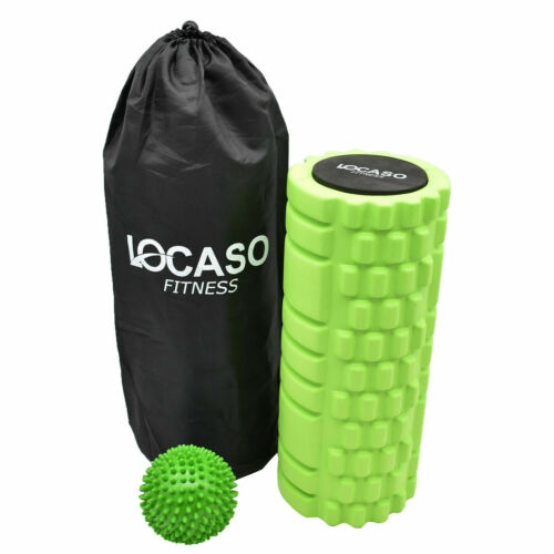 Foam Roller Grid Massage Balle Yoga Pilates Muscle Physio Exercice Gym Fitness UK