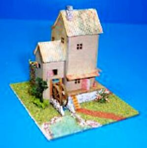 Dollhouse-Miniature-Old-Mill-Kit-1-144-Scale