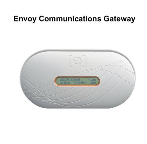 Enphase Env-120 Envoy Energy Communications Gateway Solar Monitor-Tested Working