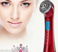 Photon 3color 3mhz 5 In1 Ultrasonic Galvanic Ion Skin Care Massager Beauty Devic