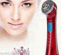 Usa Photon 3color 3mhz 5 In1 Ultrasonic Galvanic Ion Skin Care Massager Beauty
