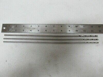 Machinist Gunsmith Millwright New Tools 12 Inch Long Drill Bits #10 #21 #30 USA
