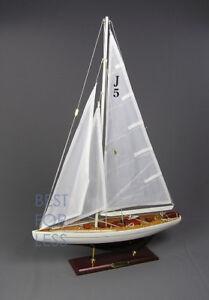 Segelboot-Segelyacht-Segelschiff-Modell-Standmodell-Ranger-Maritime-Dekoration