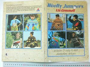 WOOLLY-JUMPERS-21-AUSTRALIAN-Styles-BIRDS-FLOWERS-amp-ANIMALS-etc-8-amp-12Ply-AKnits
