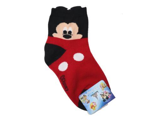 CHILDREN/'S Disney Character Quarter Length Socks MADE IN KOREA 3 PAIRS FOR $9.99
