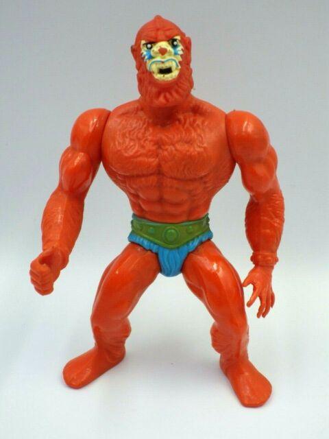Figurine vintage Beast man MATTEL Inc FRANCE 1981 MOTU maitre de l'univers 13cm*