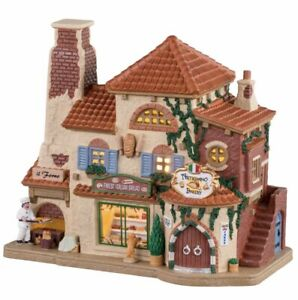 Lemax 2020 ARTIGIANO BAKERY #05648 BNIB Lighted Building