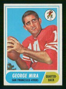 GEORGE MIRA 1968 TOPPS 68 NO 9 VG+  37076