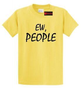 e22f1df00 Ew People Funny T Shirt Anti Social Nerd Geek College Party Tee S ...