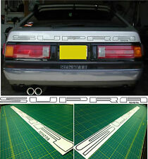 Toyota Supra Mk 2 1985 - 1986 Hatch Portón Trasero restauración Calcomanías Stickers