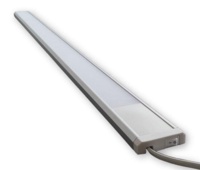 15 W 230 V Led Leiste Wandlampe Möbel Unterbau Wandleuchte inkl. An Aus Schalter