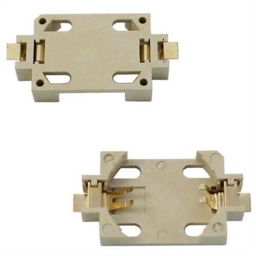 5x SMD batería soporte pilas de botón CLIP cr2032; 29x16x5,5mm
