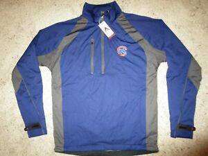 Chicago-Cubs-MLB-Running-Cycling-Hiking-Pullover-Long-Sleeve-Shirt-SM-S-MENS-NEW