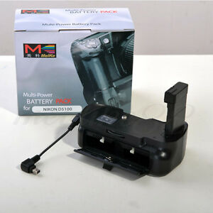 Meike-MKD5100-Multi-Power-Vertical-Battery-Grip-For-Nikon-D5100-DSLR-With-Cable