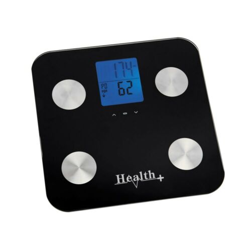 Health plus corps analyseur échelles-Noir