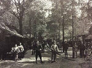 Exhibition-Universal-Paris-1889-the-Villages-Natives-in-L-039-Esplanade-Print