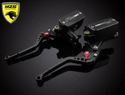 Short Brake Clutch Levers For Kawasaki ZX6R//ZX636R//ZX6RR 00-04 ZX9R 00-2003 MZS
