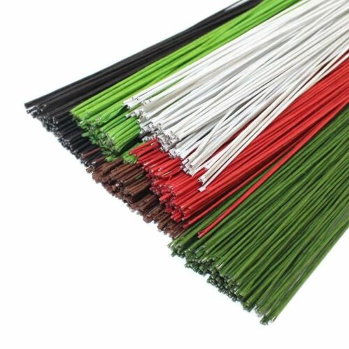 50PCS #26 Paper Wire 0.45mm//0.0177Inch Diameter 40cm Long Iron Wire Used For Nyl