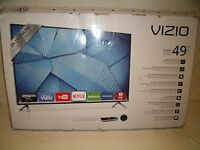 "Vizio M49-C1 49"" Ultra HD Full-Array LED Smart TV 2160p 120Hz Internet Apps WiFi"