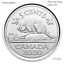 CANADA-2020-New-3x5-cents-ORIGINAL-BEAVER-Circulation-coin-UNC-From-mint-roll miniature 1
