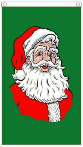 Christmas Santa Claus Traditional Style Hanging 3/'x5/' Flag