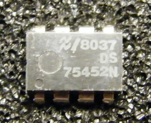 National Semiconductor 10x ds75452n Dual Peripheral Driver