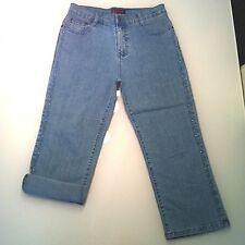 Jeans donna elasticizzati a 3/4 tg. 31 zara mango motivi bershka h&m stradivariu