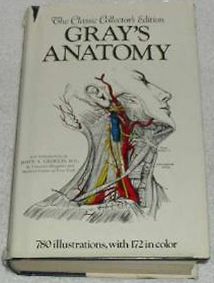 Gray/'s Anatomy by Henry Gray New Illustrated Classic Anatomical Hardcover