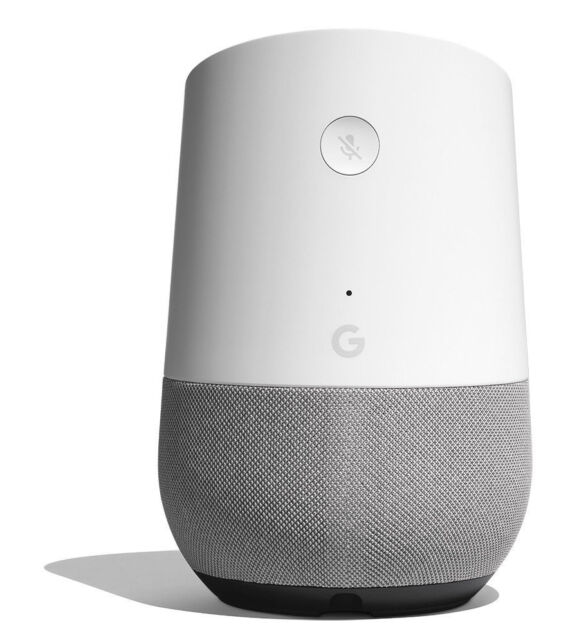 Google Home Smart Assistant-BIANCO e ardesia