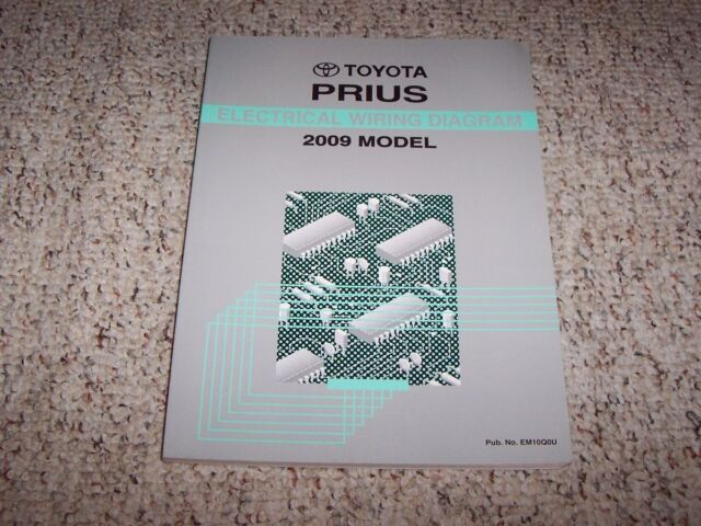 2009 Toyota Prius Electrical Wiring Diagram Manual Touring Hybrid 1 5l 4cyl