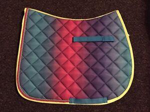 Jumping Numnah FREE UK Postage Saddle Pad FULL Dressage Rainbow GP