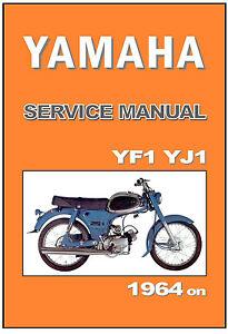 yamaha workshop manual yj1 yf1 1964 1965 1966 1967 1968 service rh ebay com BMW Workshop Manual Ford Workshop Manuals