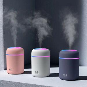 USB Portable Mini LED Humidifier Car Air Purifier Water Aroma Diffuser Mist
