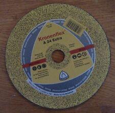 Kronenflex Cutoff Wheel A 24 Extra 180 X 3 X 22mm 7 X 332 X 78 8500 Rpm