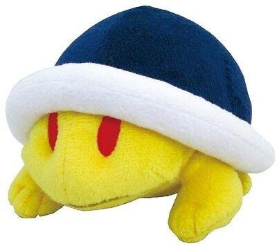 "Official Little Buddy Super Mario 1334 USA 4"" Buzzy Beetle Stuffed Plush Doll"