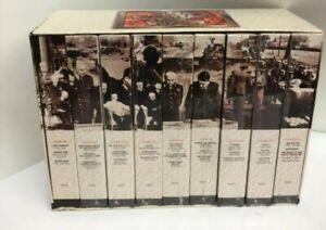 The World At War VHS Narrator Laurence Olivier Thames History of World War II 9