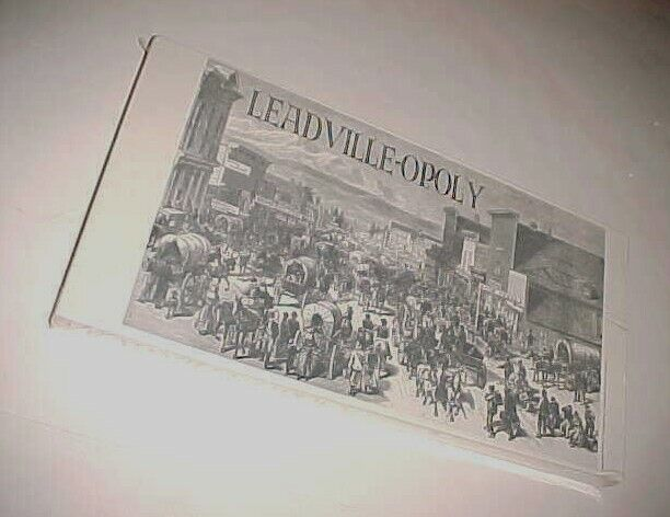 Leadville-Opoly Board Game Couleurado Pride Dist. Beta Sigma Phi Sorrity nouveau