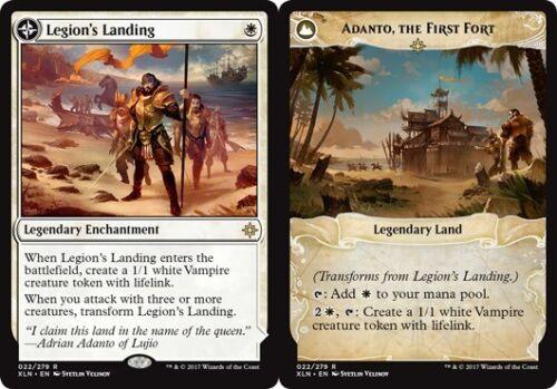 the First Fort Legion/'s Landing //// Adanto Ixalan Near Mint 1x x1 English
