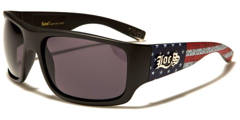 Sunglasses LOCS Hardcore USA Really Cool Patriotic Shades LOC911USA