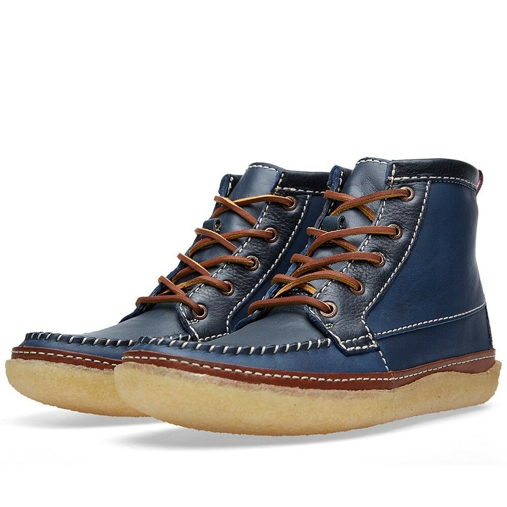 Clarks Originals M VULCO GUIDE BLUE COMBI LEATHER G