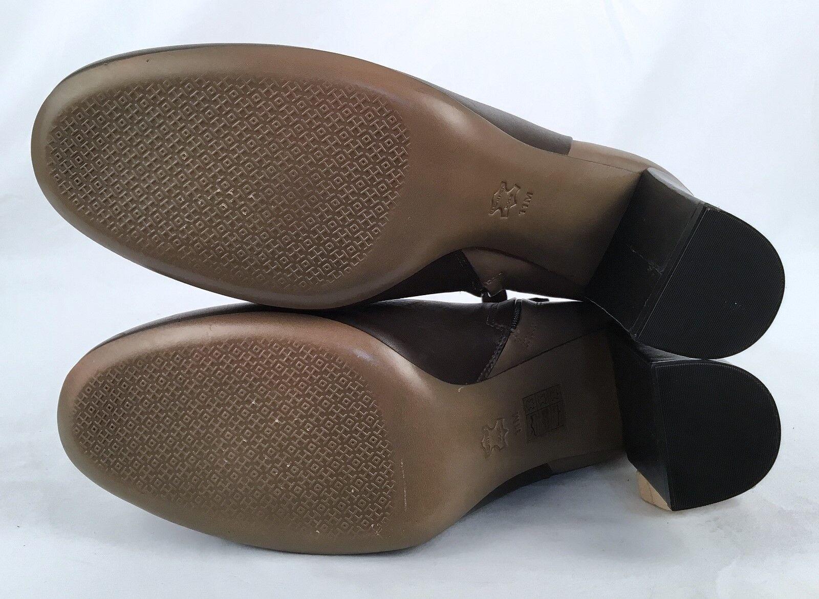 Nuevo    Tory Burch Botines De Cuero Tobillo Tobillo Tobillo de dos tonos-tamaño 11 M -  259 (J7) 6f796c
