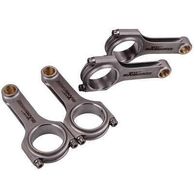 maXpeedingrods Connecting Rods 130.5mm for Subaru Impreza Legacy Forester EJ20 EJ22 EJ25 Engine with ARP Bolts