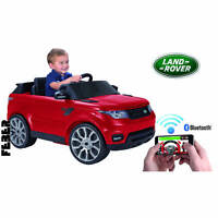 Feber Range Rover Sports 6v Ride On Car With Smartphone Controller - Red