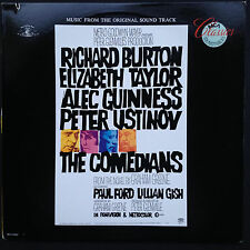 Laurence Rosenthal COMEDIANS film score OST LP 1967 Burton Taylor Alec Guinness