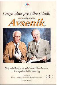 Oberkrainer-Besetzung-Noten-AVSENIK-Originale-Bearbeitungen-6-fuer-Quintett