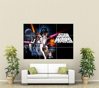 Star Wars Giant XL Section Wall Art Poster TVF115