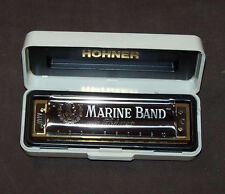 Hohner Marine Band Diatonic Harmonica - Key of C Major
